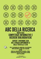 7/11: ABC DELLA RICERCA - Modulo base