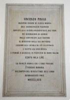 Lapide V. Pinali